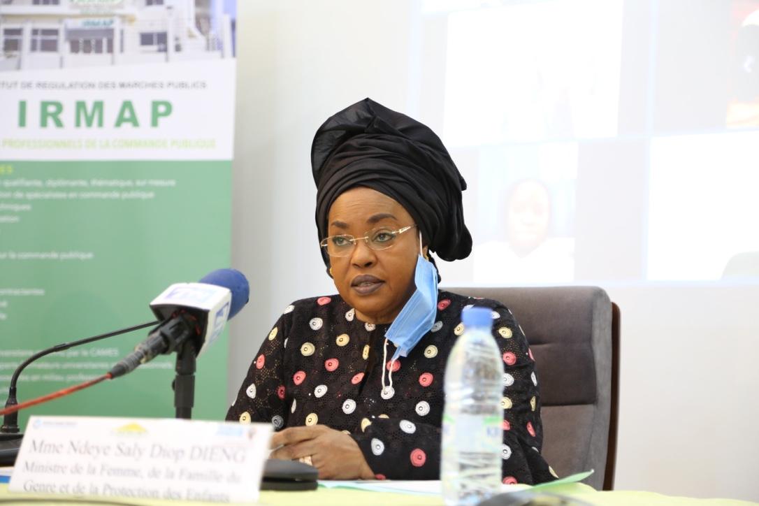 Mme Ndeye Saly Diop DIENG - Ministre de la FEMME