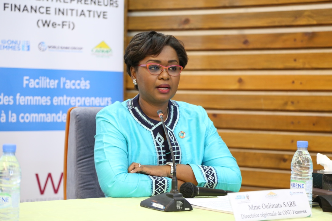 Mme Oulimata SARR - Directrice Regionale ONU - FEMMES